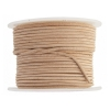Leather Round Cord 1.5mm Natural